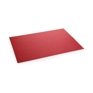 Mantel individual FLAIR SHINE 45x32 cm, rojo