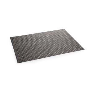Mantel individual FLAIR RUSTIC 45x32 cm, antracita
