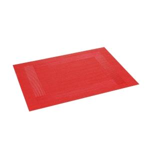 Mantel individual FLAIR FRAME 45x32 cm, rojo