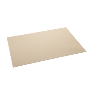 Mantel individual PURITY FLAIR 45x32 cm, almendra