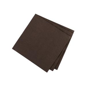 Pack servilletas de mesa chocolate FLAIR