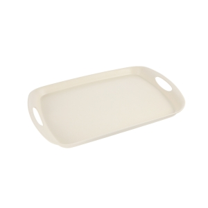 Bandeja FANCY HOME 44 x 30 cm, crema