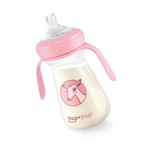 Bottle PAPU PAPI 250 ml, pink