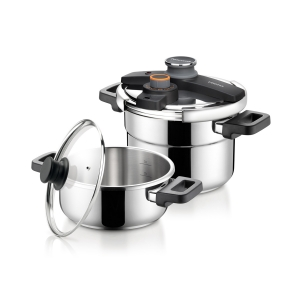 Pressure cooker ULTIMA DUO 4.0 and 6.0 l