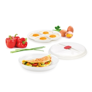 Recipiente para tortillas y huevos PURITY MicroWave