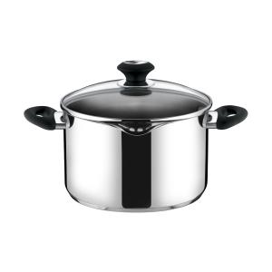 Deep pot PRESTO with spout and cover, ø 24 cm, 6.0 l