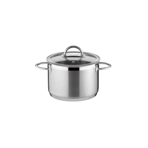 Deep pot VISION ø14 cm with cover, 1,5 l