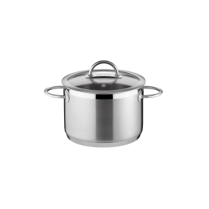 Deep pot VISION ø18 cm with cover, 3.0 l
