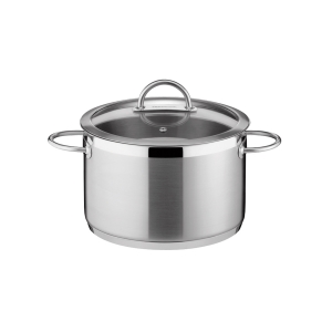 Deep pot VISION ø24 cm with cover, 7.0 l