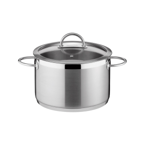 Deep pot VISION ø26 cm with cover, 9.0 l