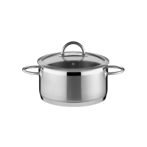 Casserole VISION ø18 cm with cover, 2.0 l