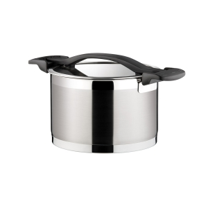 Deep pot ULTIMA with cover ø 18 cm, 3.0 l