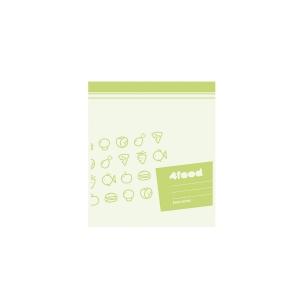 Vrecká na potraviny 4FOOD 27x23 cm, 15 ks
