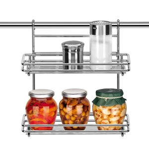 Twin-level rack MONTI, 26 cm