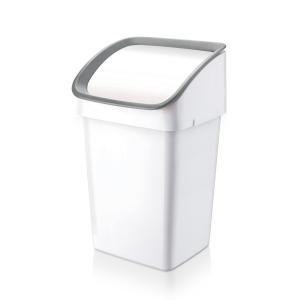 Odpadkový koš CLEAN KIT 21 l, šedý