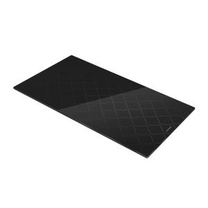 Glass desk on cooktop ONLINE 30 x 52 cm, waves
