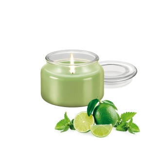 Duftkerze FANCY HOME 200 g, Mojito