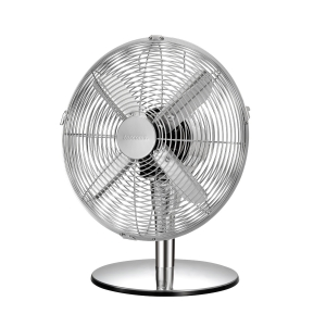 Table fan FANCY HOME ø 30 cm, chrome