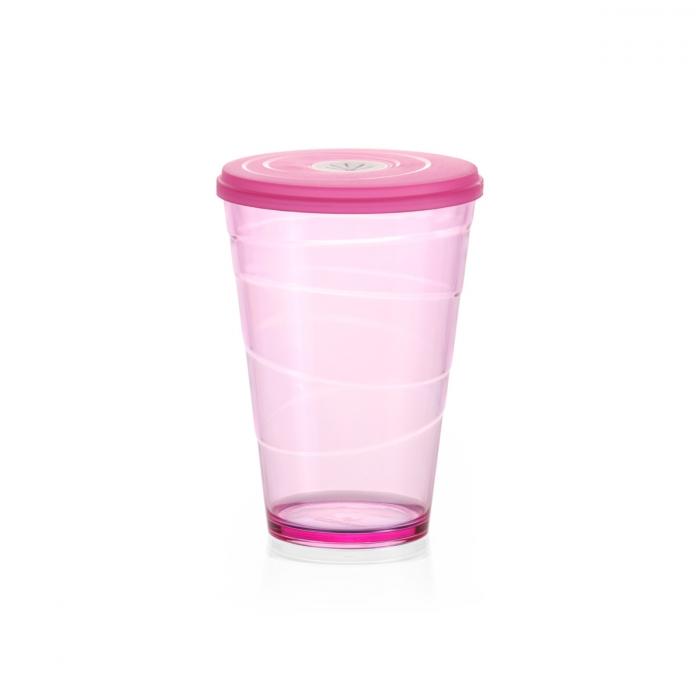 myDRINK pohár fedéllel 400 ml