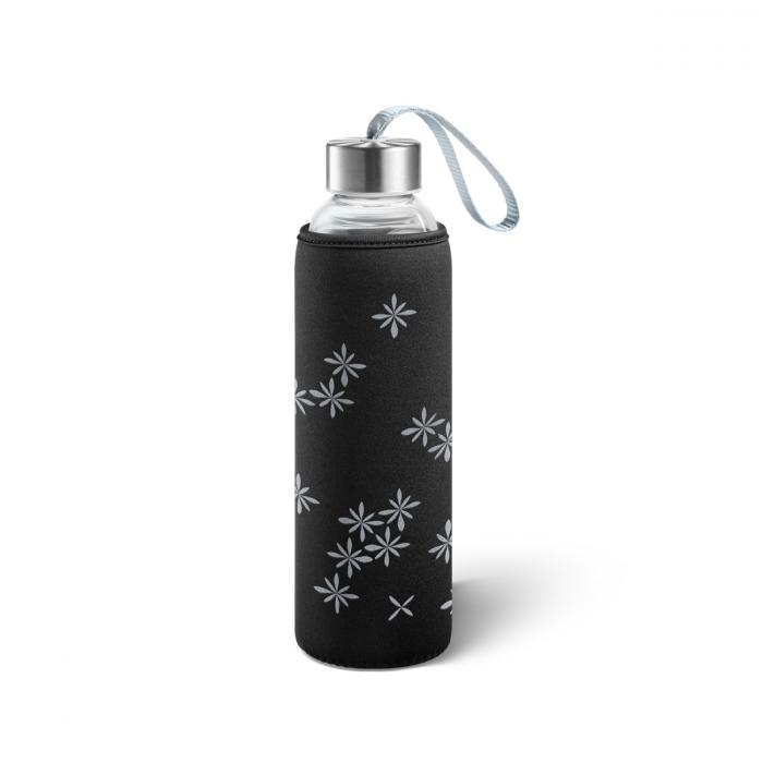 Skleněná láhev s termonávlekem myDRINK 0,5 l