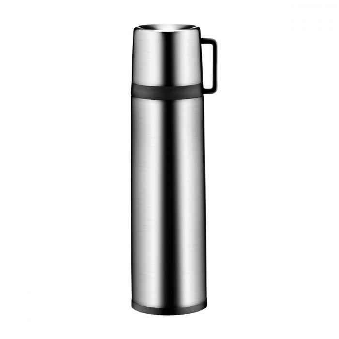 Termos c/ chávena CONSTANT 1.0 L, aço inoxidável