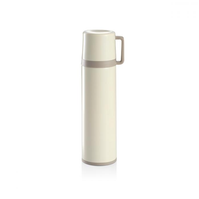 Termos c/ chávena CONSTANT CREAM 0.5 L, aço inoxidável