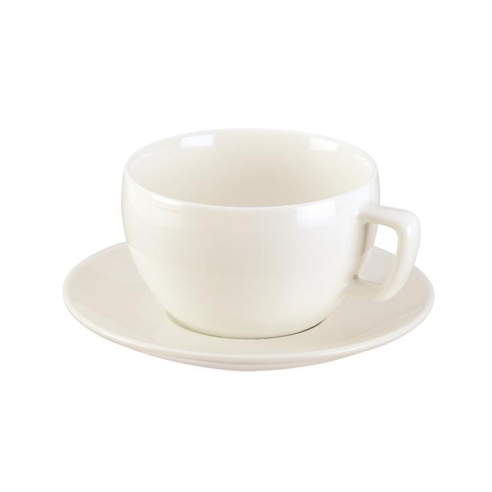 CREMA Reggelizős csésze, tányérkával