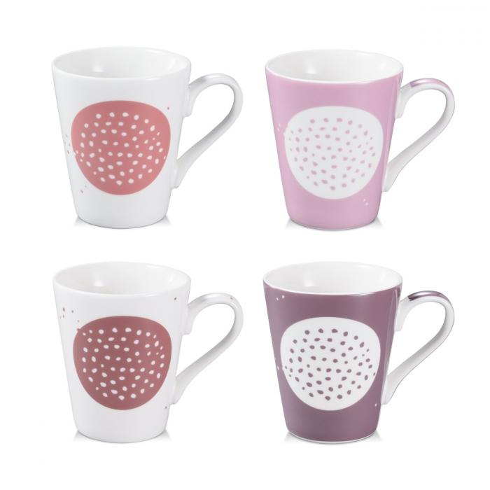 Tazza mug myCOFFEE, 4 pezzi, Sugar