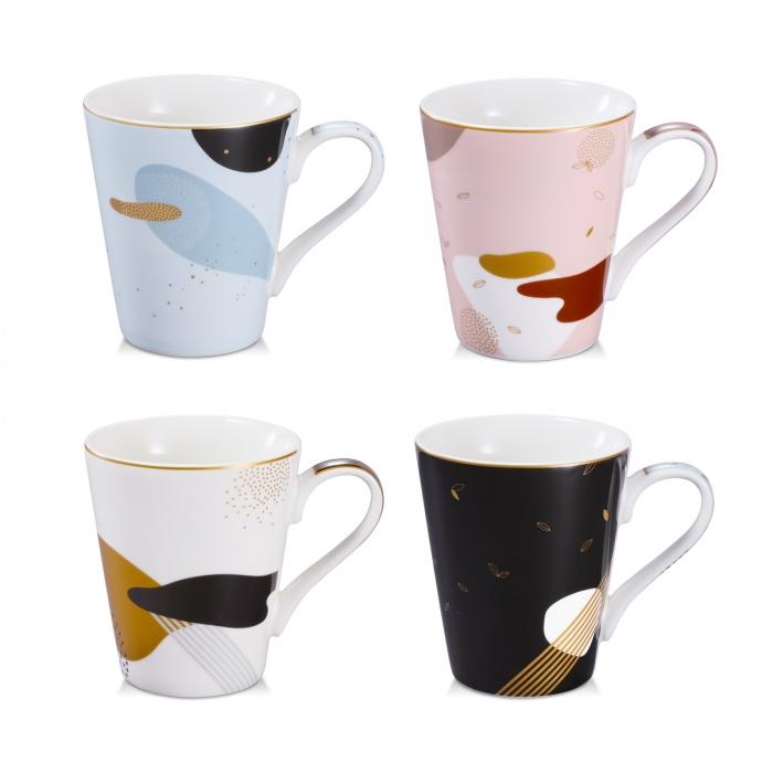Tazza mug myCOFFEE, 4 pezzi, Moon