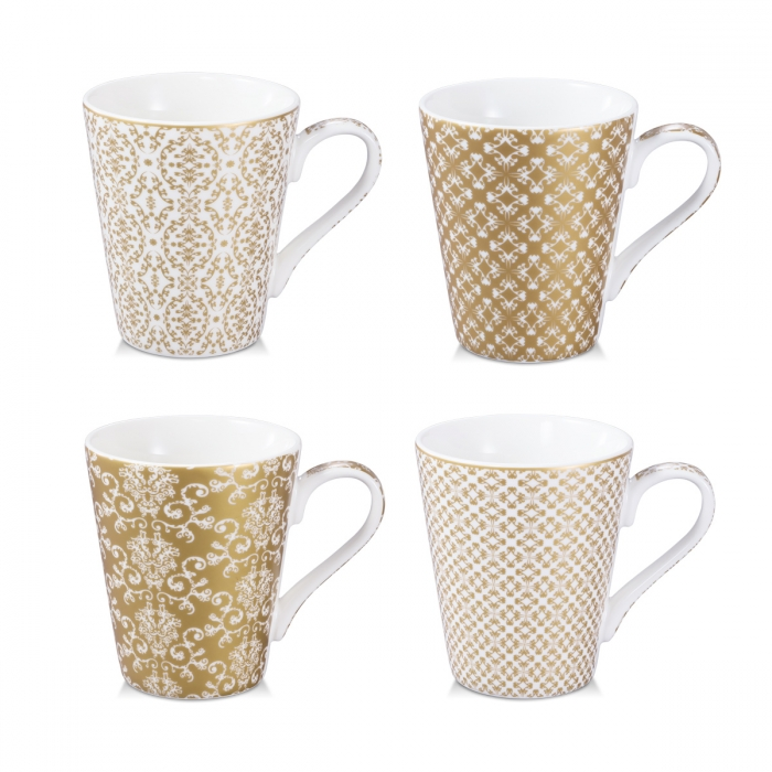 Tazza mug myCOFFEE, 4 pezzi, Empire