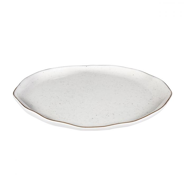 Prato raso CHARMANT ø 26 cm, branco