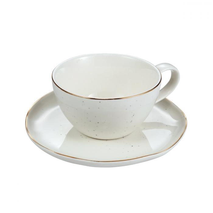 Šálek na čaj CHARMANT, s podšálkem