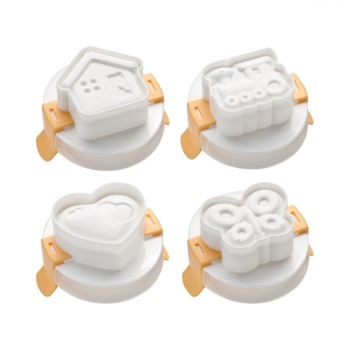 Formičky pro tvarování vajec PRESTO, 4 ks