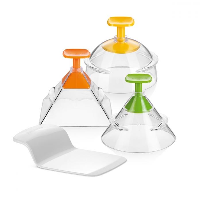 Stampi 3D per impiattare, PRESTO FoodStyle, 3 forme
