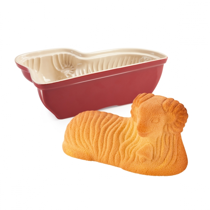 DELÍCIA Bárány alakú kerámia sütőforma