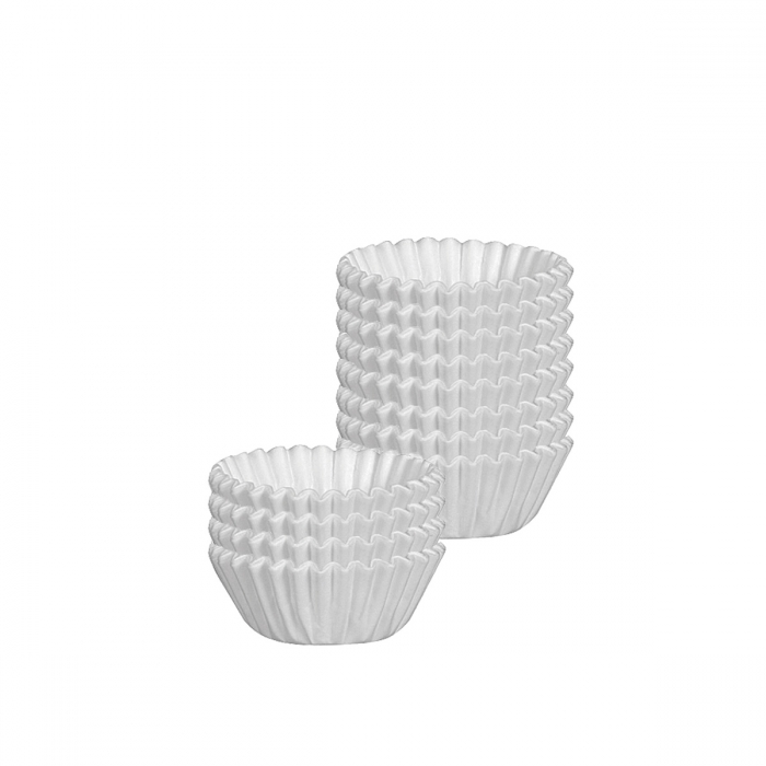 Cukrářské košíčky DELÍCIA ø 6.0 cm, 100 ks, bílé