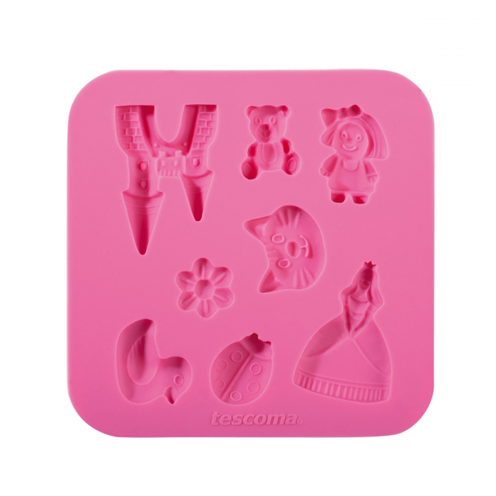Stampo in silicone per pasta di zucchero DELÍCIA DECO, per bambine