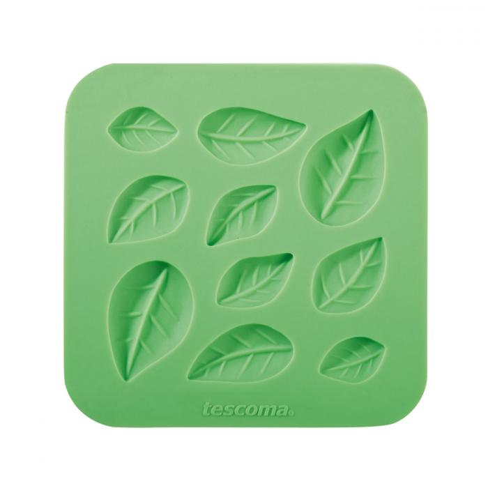 Molde motivos hojas para pasta de azúcar DELICIA DECO