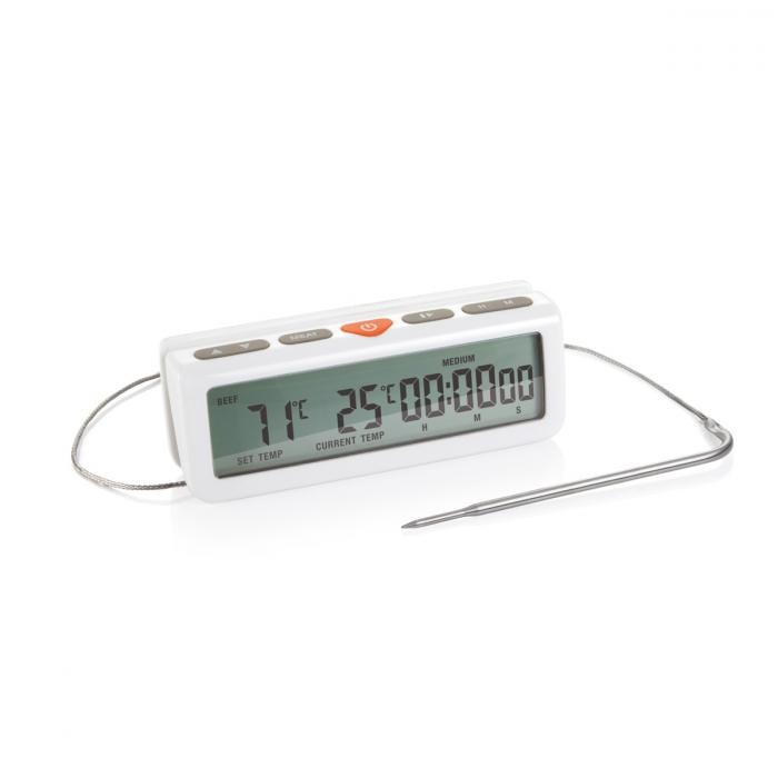 Termómetro digital p/ forno ACCURA, com temporizador