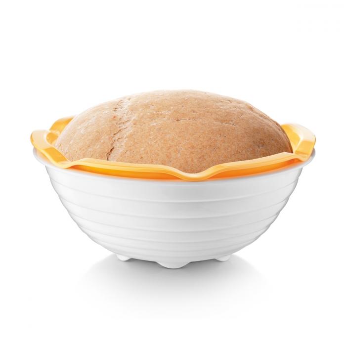 Cesto com taça para pão caseiro TESCOMA DELLA CASA