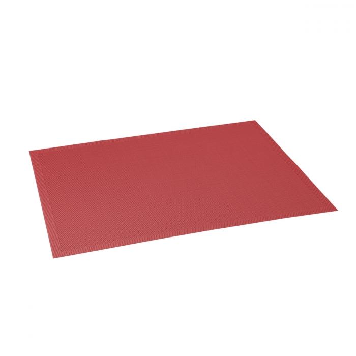 Base individual FLAIR STYLE 45x32 cm, vermelho rubi