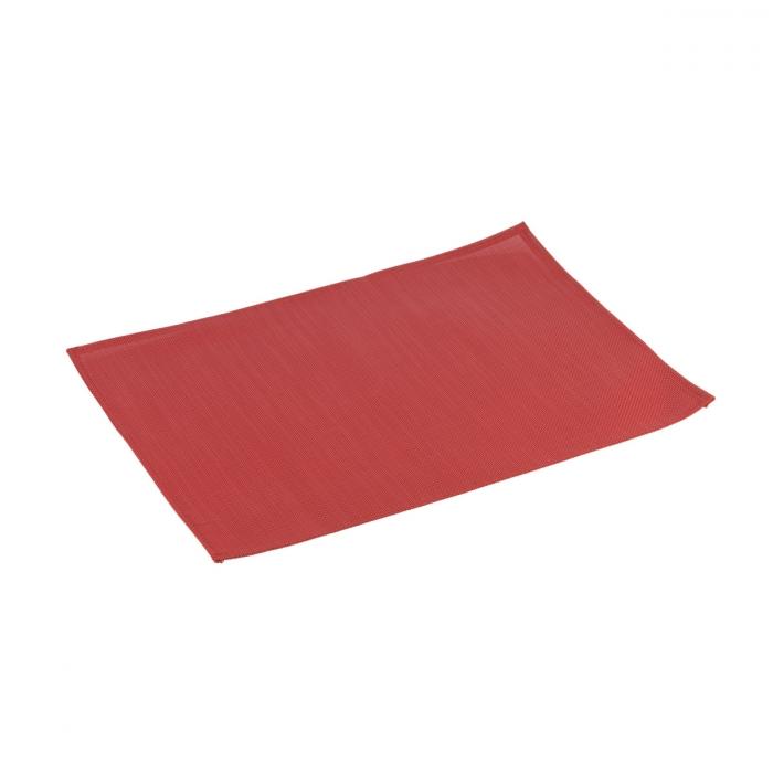 Mantel individual FLAIR CLASSIC 45x32 cm, rojo rubí