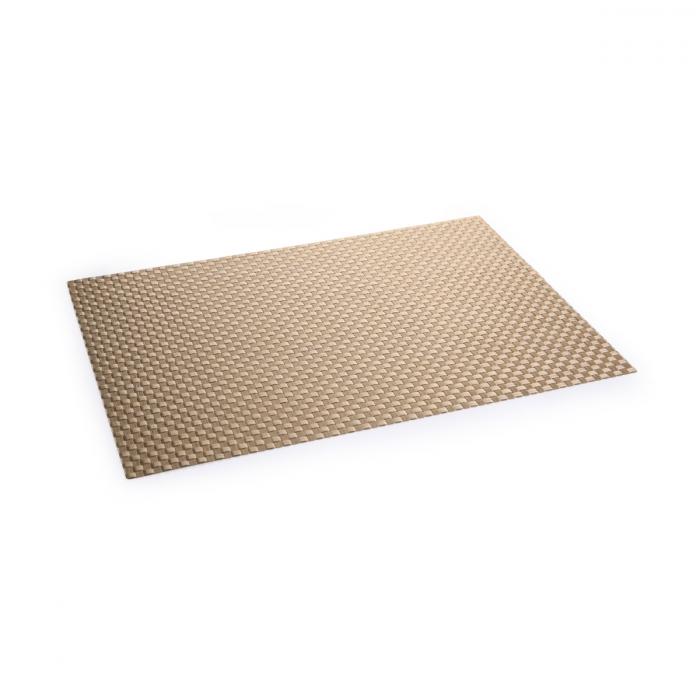 Mantel individual FLAIR SHINE 45x32 cm, oro