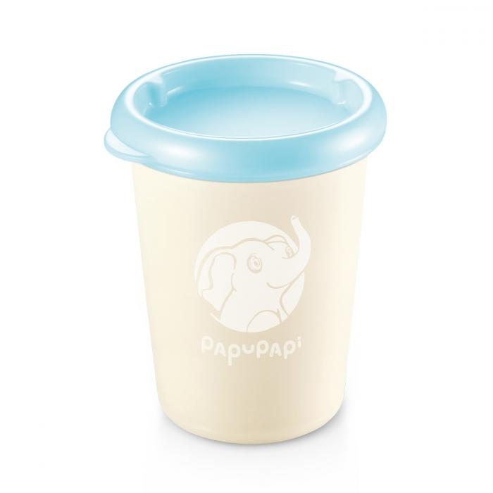 PAPU PAPI ételtároló doboz, 250 ml, 2 db, kék