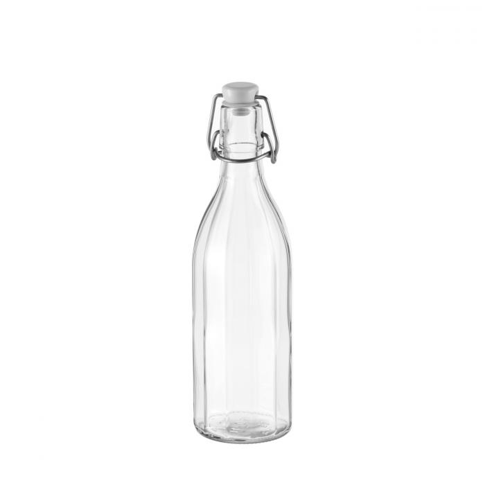 Fľaša s klipsou hranatá TESCOMA DELLA CASA 500 ml