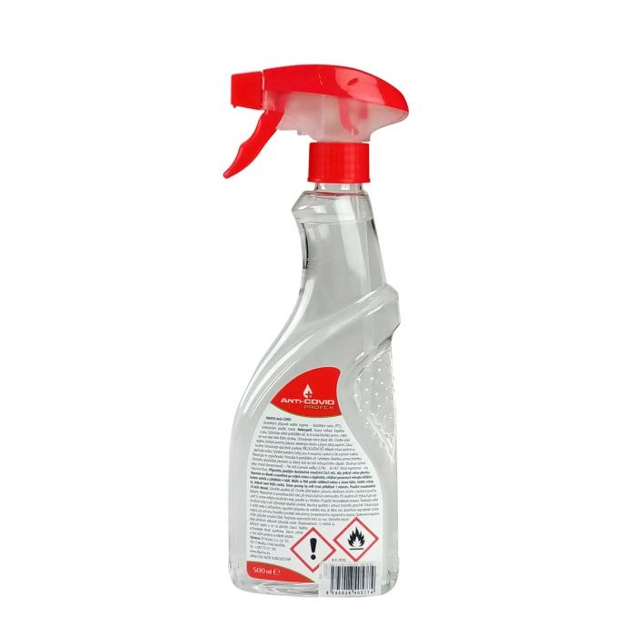 Dezinfekce s rozprašovačem Anti-COVID 500 ml
