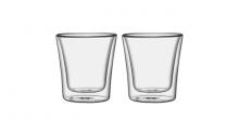 Szklanka z podwójną ścianką myDRINK, 250 ml, 2 szt.