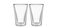 Dvojstenné poháre myDRINK, 330 ml, 2 ks