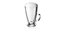 Sklenený hrnček latte macchiato CREMA 300 ml