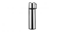 Thermosflasche mit Tasse CONSTANT 1.0 l, aus Edelstahl